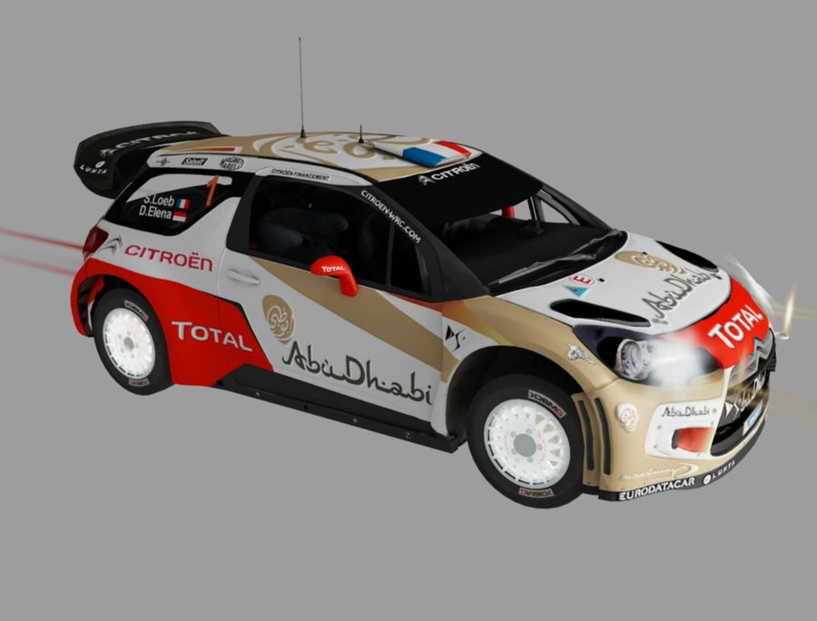 citroen royalty-free modelo 3d - Preview no. 3