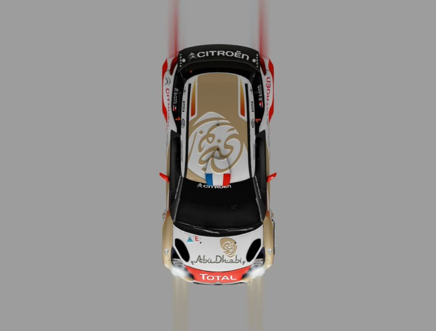 citroen royalty-free 3d model - Preview no. 6