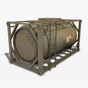 연료 용기 3d model