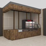 3Dカフェモデル 3d model