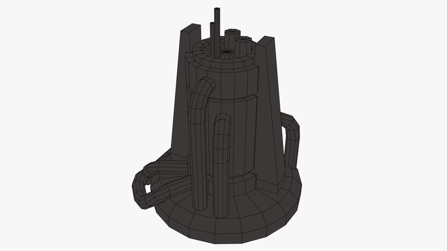 Fábrica royalty-free 3d model - Preview no. 8