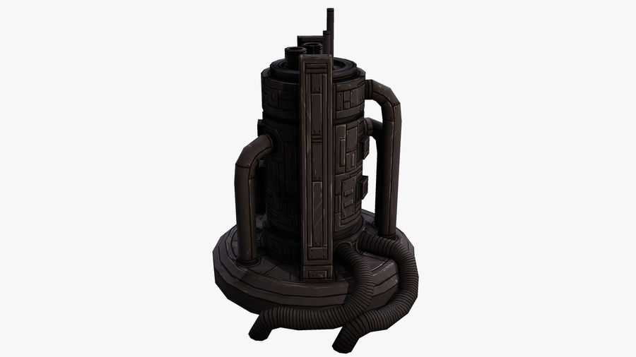 Fábrica royalty-free 3d model - Preview no. 5