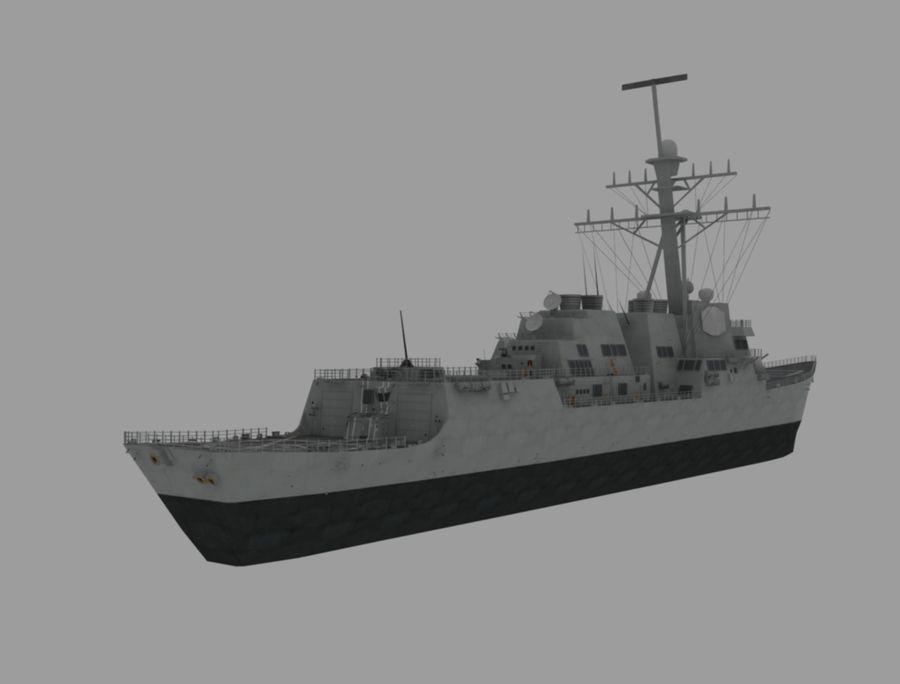 barco de batalla royalty-free modelo 3d - Preview no. 5