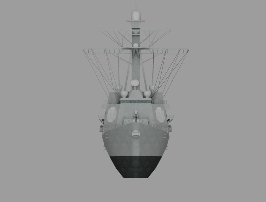 barco de batalla royalty-free modelo 3d - Preview no. 2