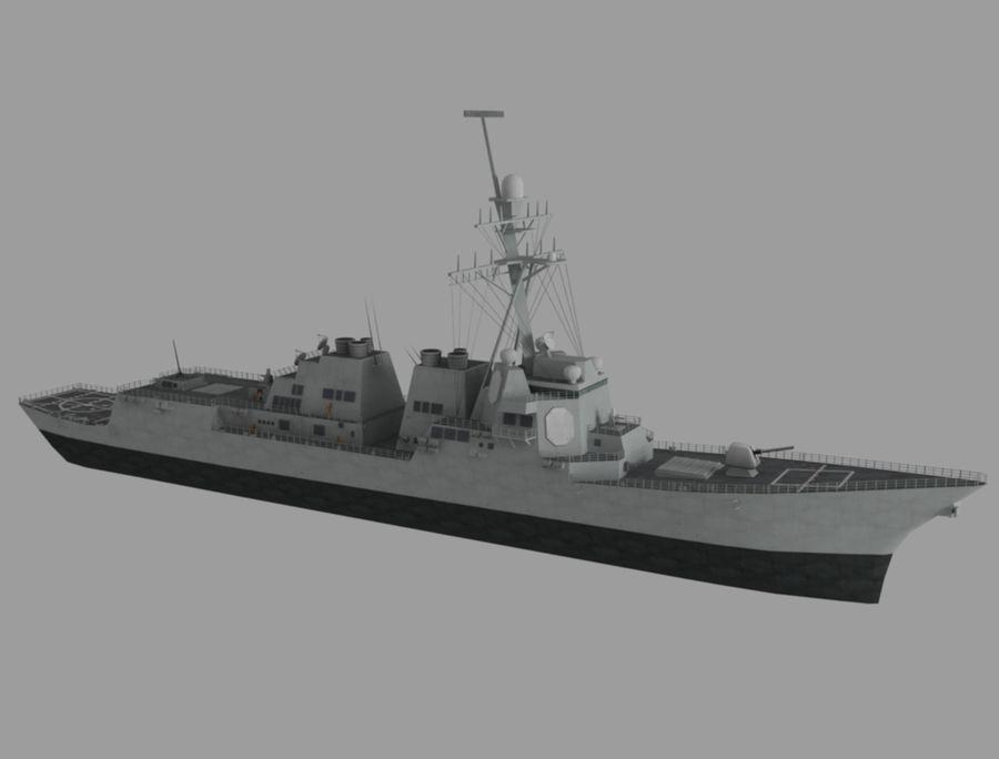 barco de batalla royalty-free modelo 3d - Preview no. 3