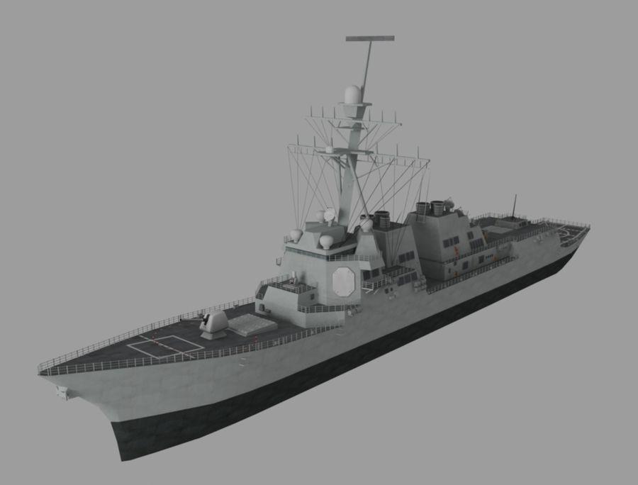 barco de batalla royalty-free modelo 3d - Preview no. 1