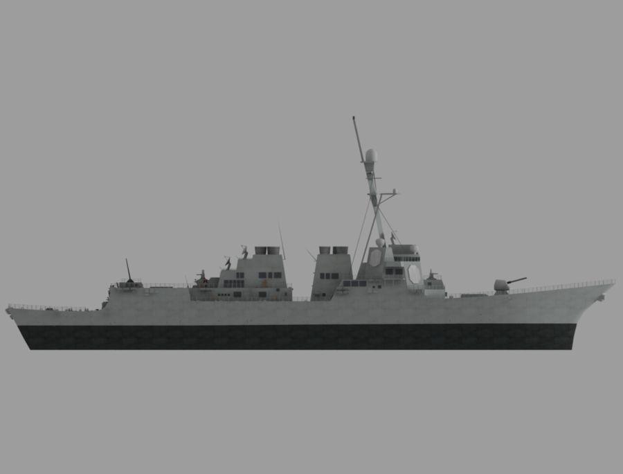 barco de batalla royalty-free modelo 3d - Preview no. 4