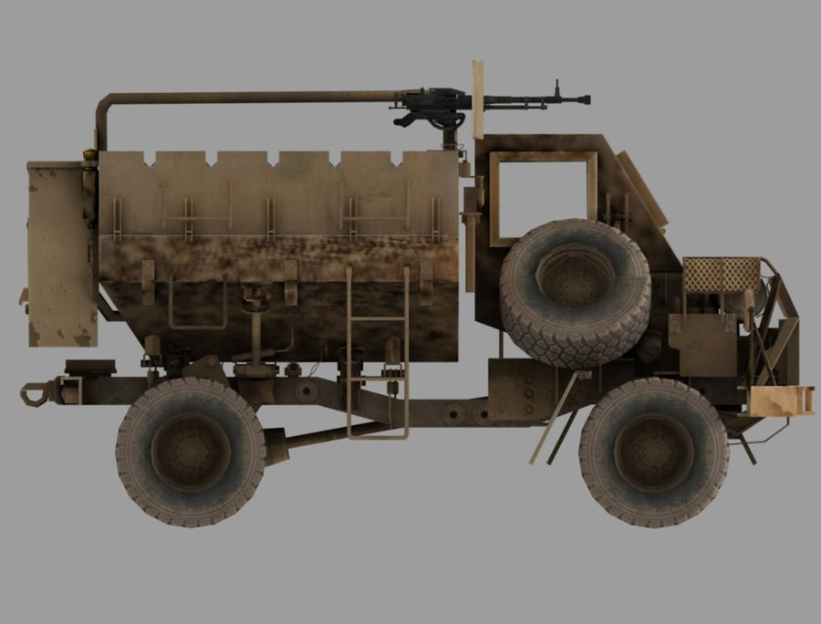 Camion buffel royalty-free 3d model - Preview no. 4