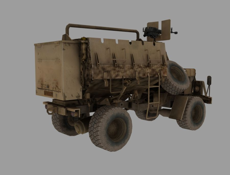 Camion buffel royalty-free 3d model - Preview no. 5