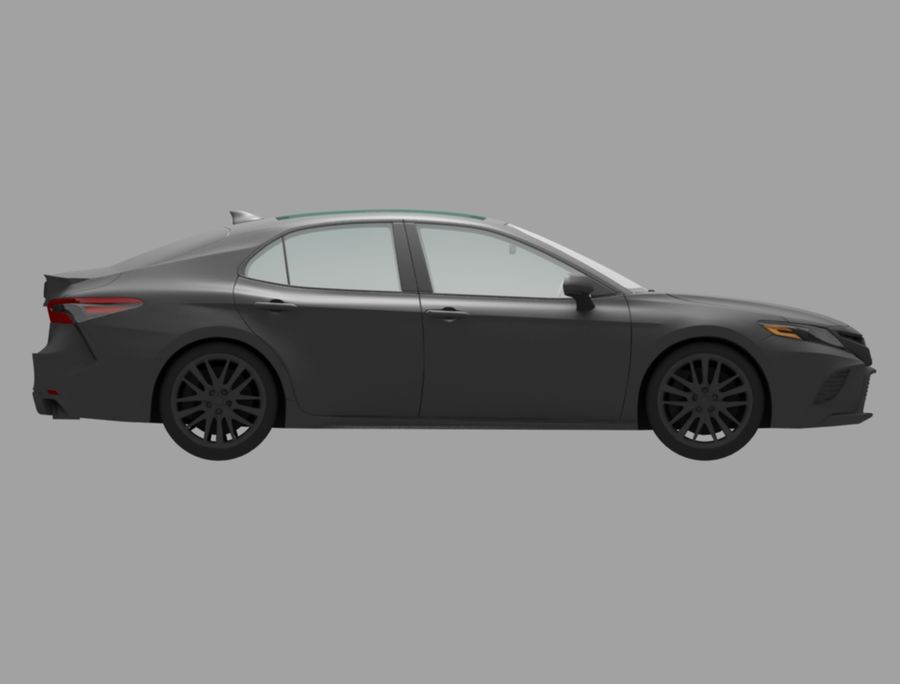camry auto royalty-free 3d model - Preview no. 4
