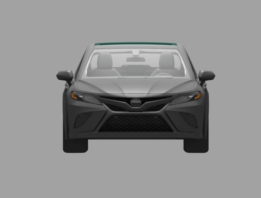 camry auto royalty-free 3d model - Preview no. 2