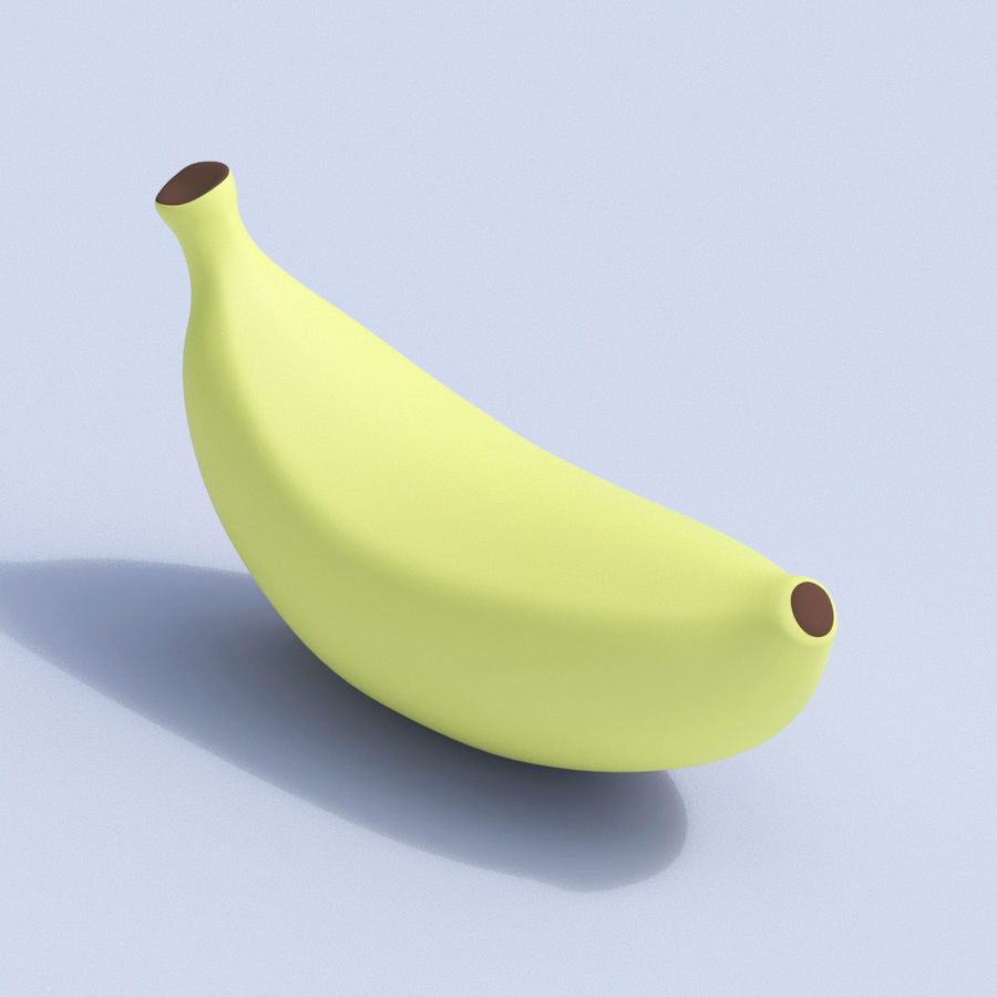 Stilisierte Cartoon-Frucht-Sammlung royalty-free 3d model - Preview no. 6
