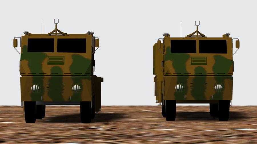 Avibras Astros II AV LMU MK6 EB royalty-free 3d model - Preview no. 3