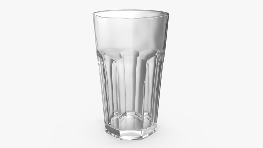Glass Cup royalty-free 3d model - Preview no. 2