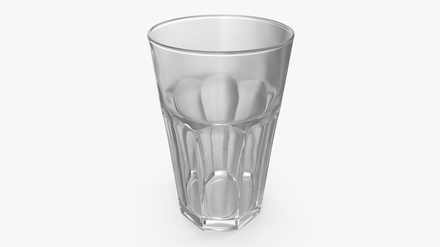 Glass Cup royalty-free 3d model - Preview no. 3