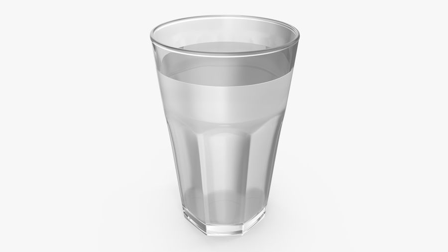 Glass Cup royalty-free 3d model - Preview no. 4