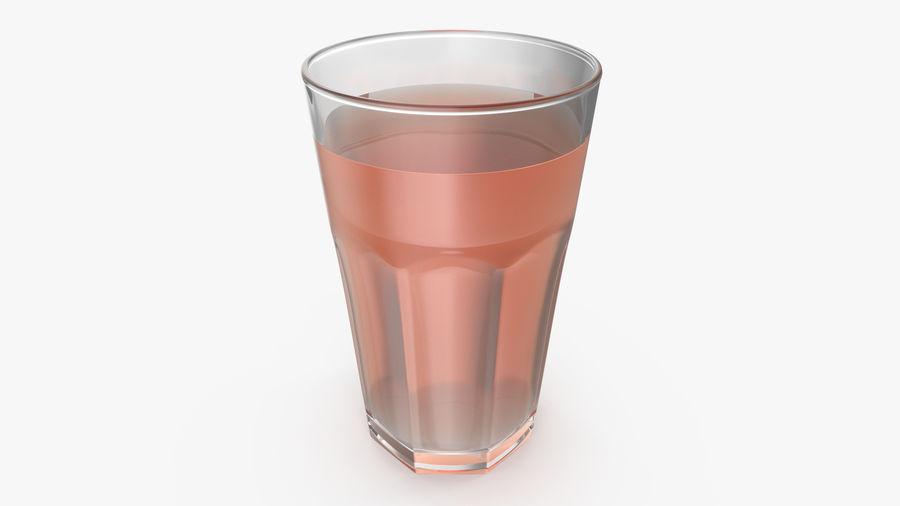 Glass Cup royalty-free 3d model - Preview no. 7