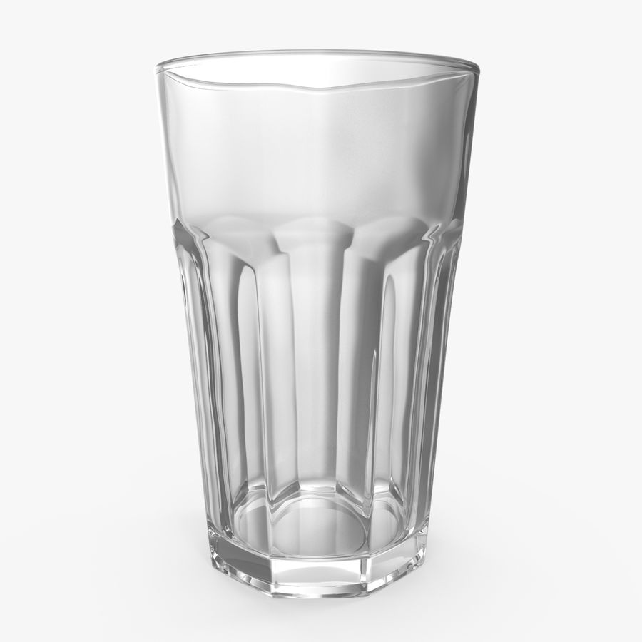 Glass Cup royalty-free 3d model - Preview no. 1