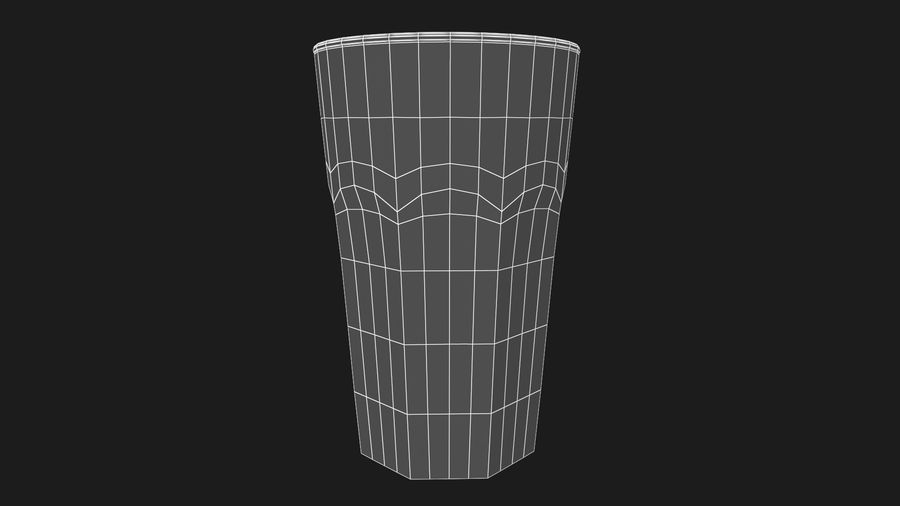 Glass Cup royalty-free 3d model - Preview no. 8