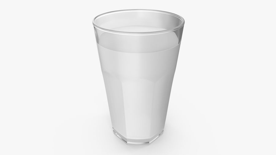 Glass Cup royalty-free 3d model - Preview no. 6