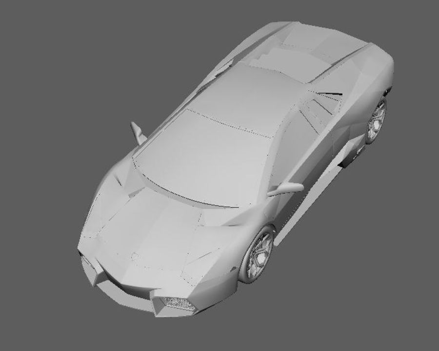 Sports car royalty-free 3d model - Preview no. 4