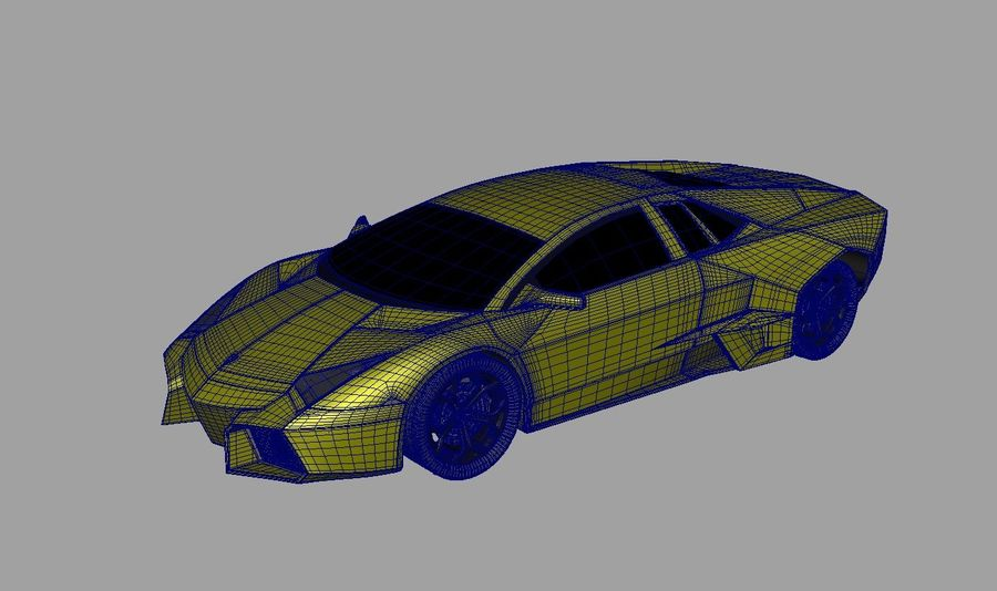 Sports car royalty-free 3d model - Preview no. 6