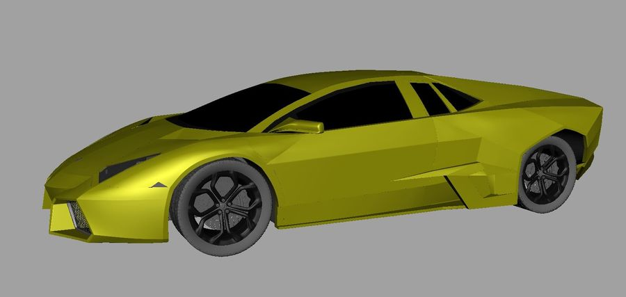 Sports car royalty-free 3d model - Preview no. 5