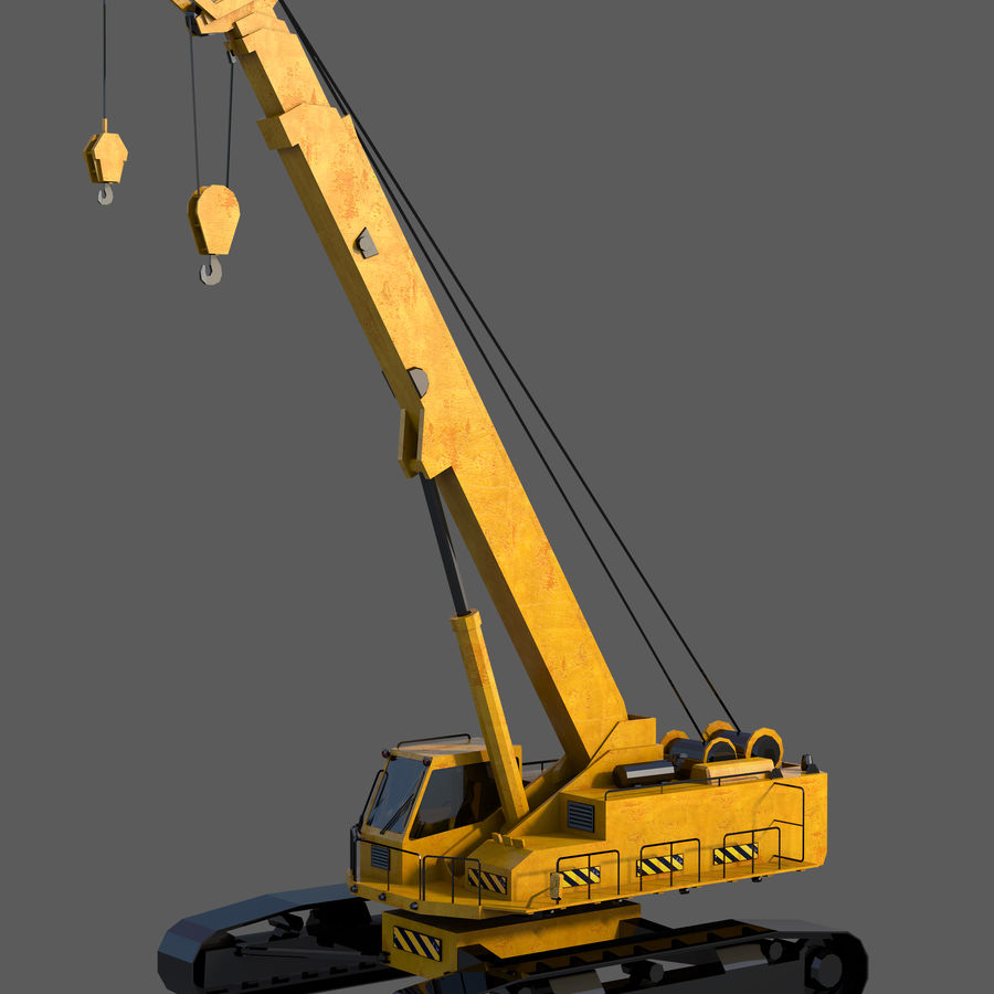 Industrial Crane royalty-free 3d model - Preview no. 2