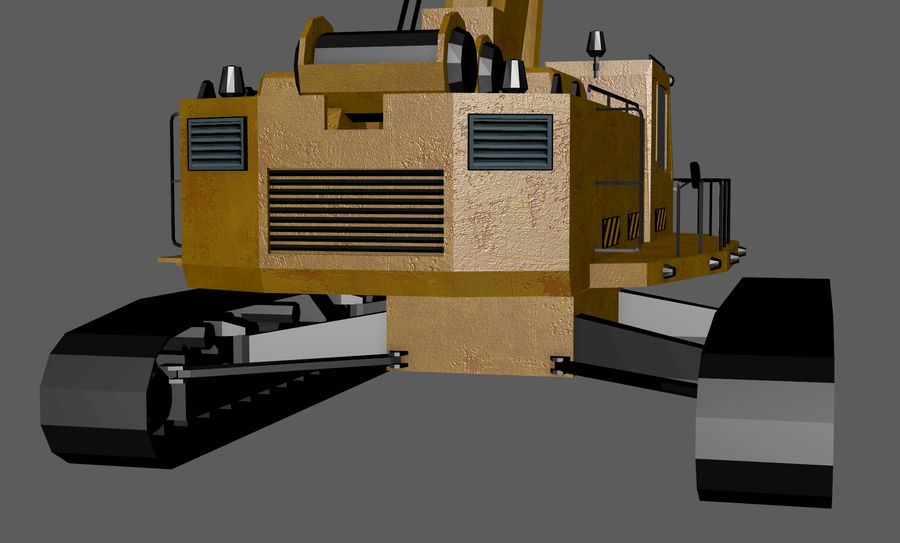 Industrial Crane royalty-free 3d model - Preview no. 11