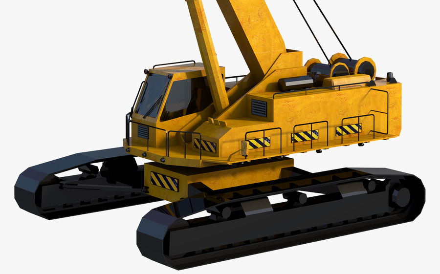 Industrial Crane royalty-free 3d model - Preview no. 5