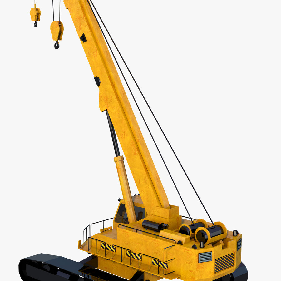 Industrial Crane royalty-free 3d model - Preview no. 3