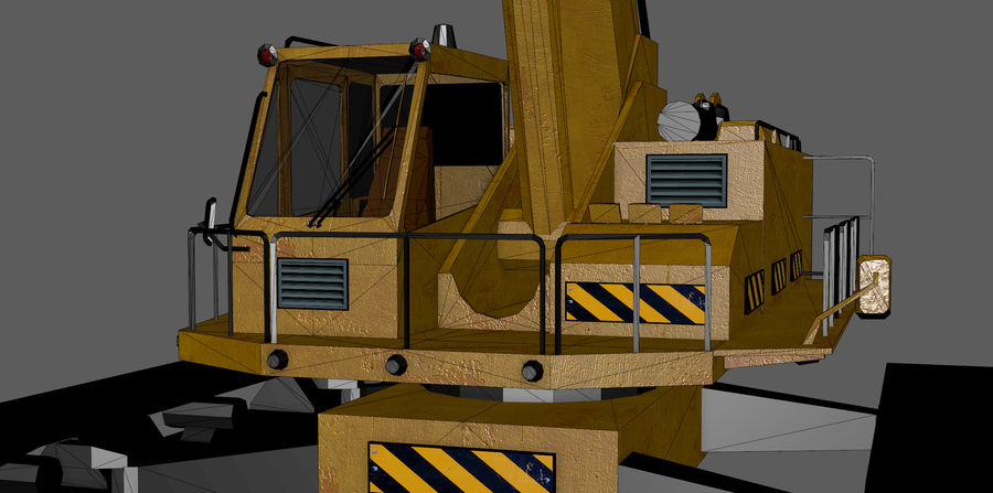 Industrial Crane royalty-free 3d model - Preview no. 13