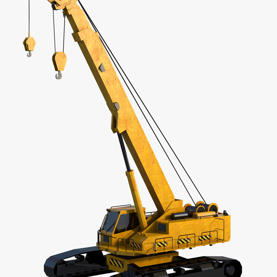 Industrial Crane royalty-free 3d model - Preview no. 1