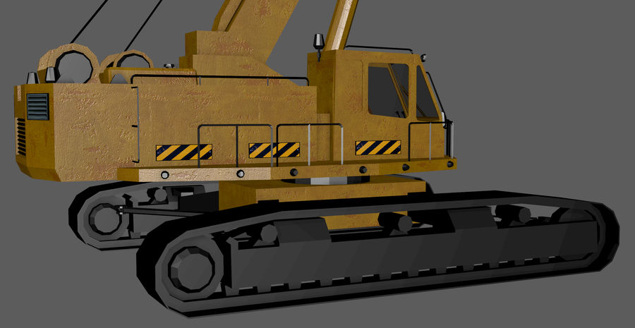 Industrial Crane royalty-free 3d model - Preview no. 9