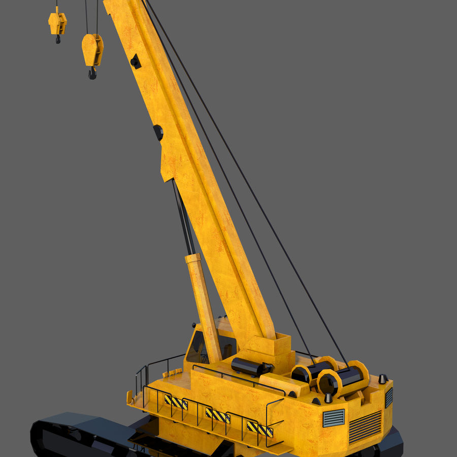 Industrial Crane royalty-free 3d model - Preview no. 4