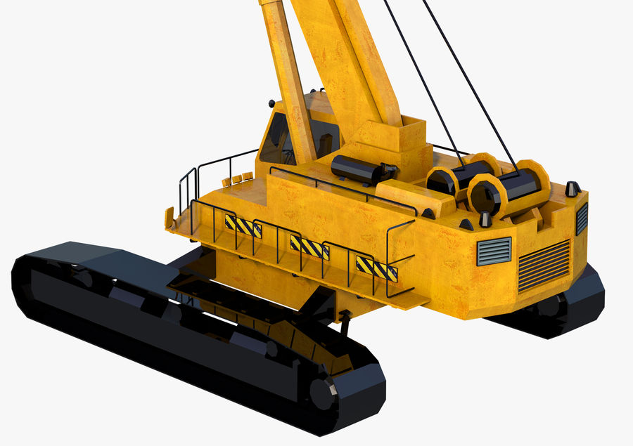 Industrial Crane royalty-free 3d model - Preview no. 6
