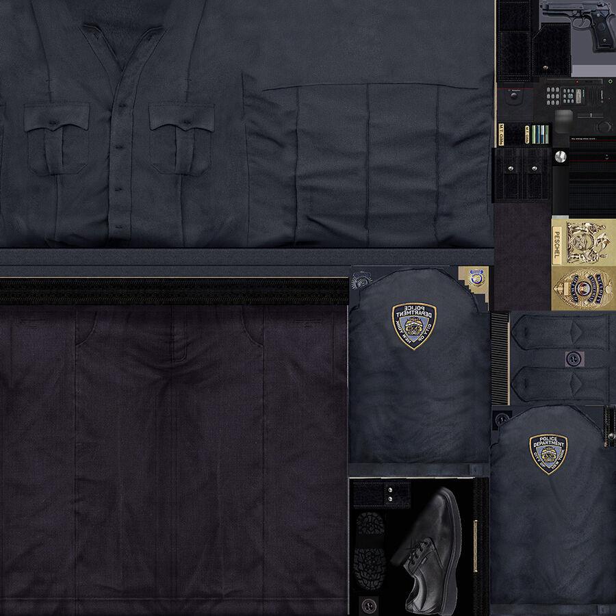 Polis royalty-free 3d model - Preview no. 19