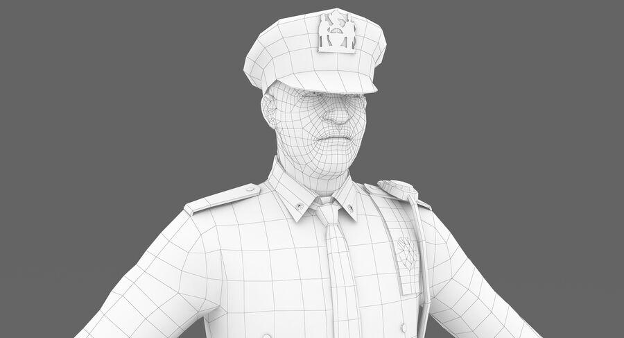 Polis royalty-free 3d model - Preview no. 6