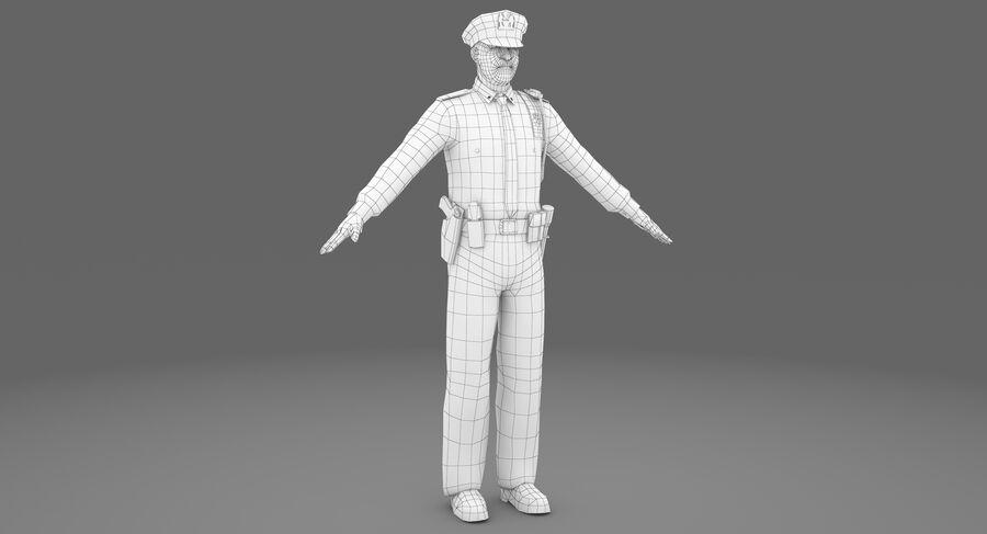 Polis royalty-free 3d model - Preview no. 7