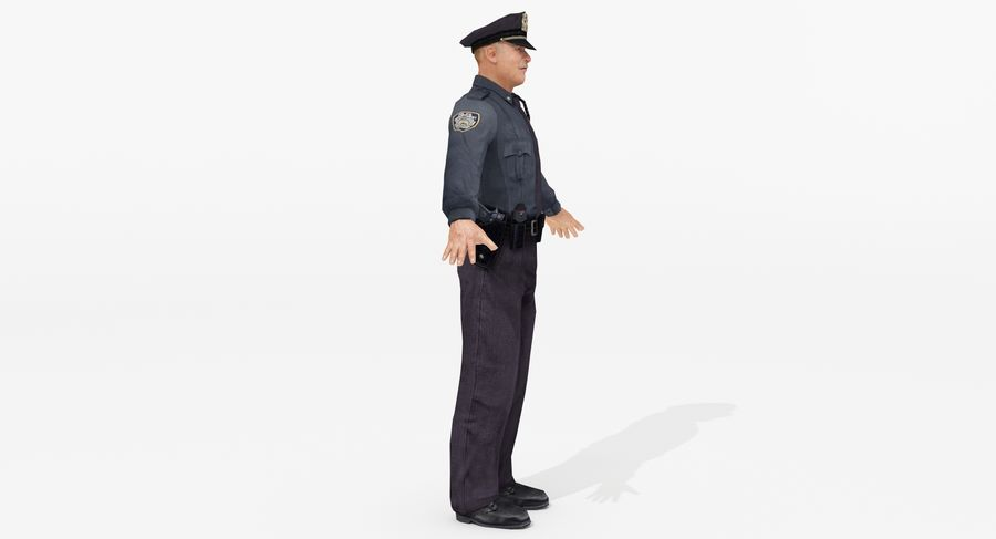 Polis royalty-free 3d model - Preview no. 5