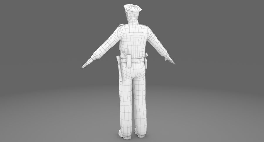 Polis royalty-free 3d model - Preview no. 16