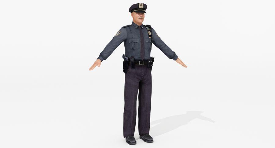 Polis royalty-free 3d model - Preview no. 3