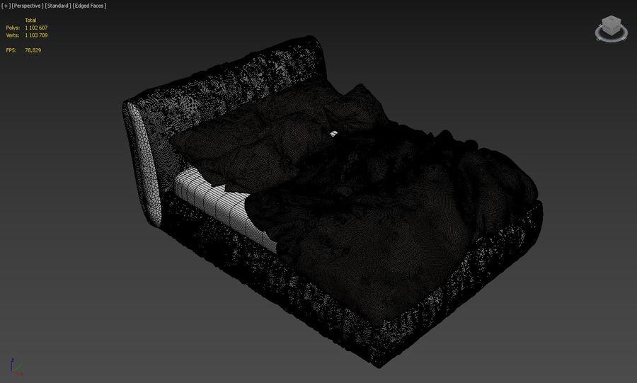 Szary węgiel drzewny royalty-free 3d model - Preview no. 4