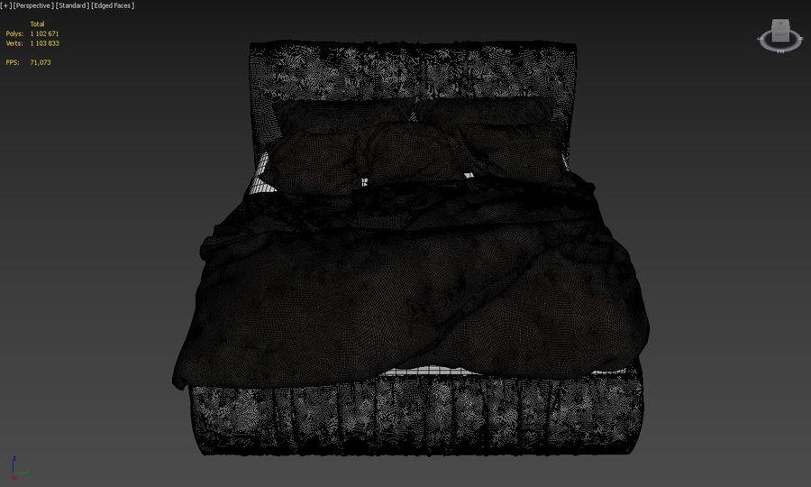Szary węgiel drzewny royalty-free 3d model - Preview no. 5
