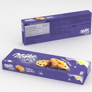 Mondelez Milka Choco Topakları 140gr 3d model