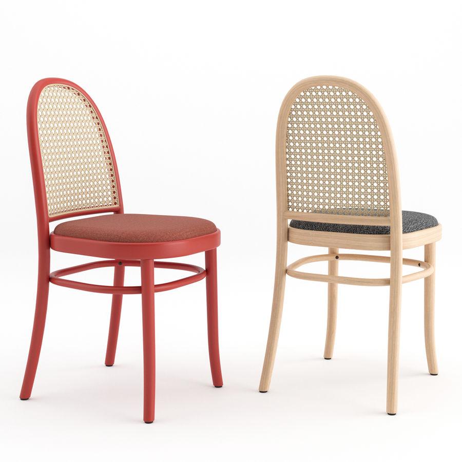 Krzesła Morrisa Thoneta Vienna royalty-free 3d model - Preview no. 3
