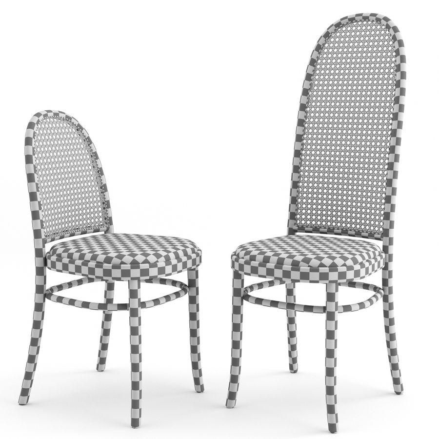 Krzesła Morrisa Thoneta Vienna royalty-free 3d model - Preview no. 5