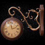 Reloj de pared con gancho modelo 3d
