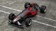 Вымышленная Формула 3d model