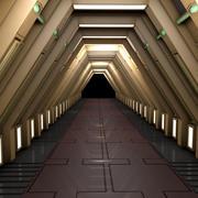 Sci Fi Tüneli 3d model